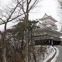 雪の久保田城