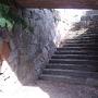 水門跡 石段と石垣