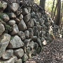 空堀の石垣