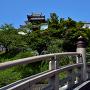 昇竜橋と天守