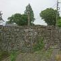 大手門櫓跡石垣
