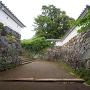 玖島城の枡形