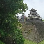 宇土櫓(加藤神社入口付近から)