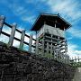 虎口から櫓を見上げる