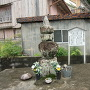 三木城跡の五輪塔