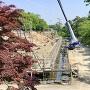 弘前城 石垣修理の様子