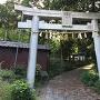 春日神社参道(城址への道)
