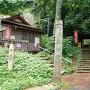 長谷寺からの登城口