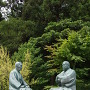 南洲神社 徳の交わり像
