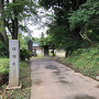 西福寺(山門なく)入口