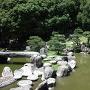 旧徳島城表御殿庭園(池泉式部分)