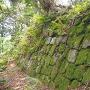 一の曲輪石垣