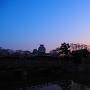 姫路の夜明け