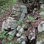 堀切周辺の石積
