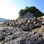 島南東の石垣