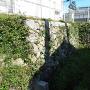 内堀西側外側にある石垣