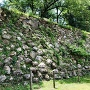 加納城 本丸石垣(北側)