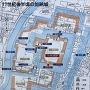 加納城 縄張り図