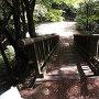 土橋 小松山城側より