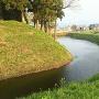 二の丸跡から見る水堀