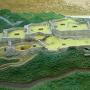 城跡の模型