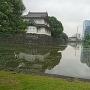 桜田二重櫓と桔梗濠
