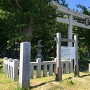 城碑と砂館神社