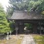 移築門(松音寺山門・裏)