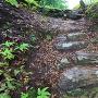 明神丸への石段