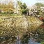 本丸跡~北郭跡に架かる橋