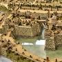 城郭復元模型(本丸と二の丸)