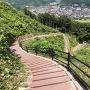 二の丸、本丸への階段