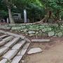 西二の丸 鉄砲櫓跡の石垣(2)