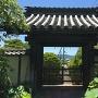 移築 城門(文覺寺山門)