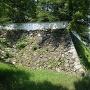 北口門からの石垣