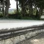 周南市文化会館の塀