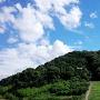 古墳から見る山隈城