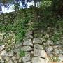 本丸西側石垣のシノギ積