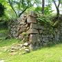 本丸南部の内側石垣