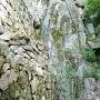 大手門北側の岩盤