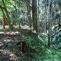 二ノ丸と本丸との間の空堀