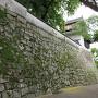月見櫓側石垣
