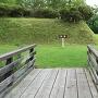 本丸、二の丸間の枡形と木橋
