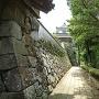 地蔵坂櫓(北虎口御門前から)