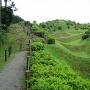 西ノ丸の堀