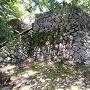 佐伯城本丸の石垣
