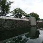 修復中の宗門櫓