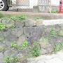 遺構の石垣