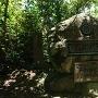 本丸跡記念碑
