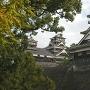 2016年11月訪問宇土櫓越しの天守